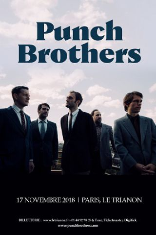 Billets PUNCH BROTHERS - Le Trianon