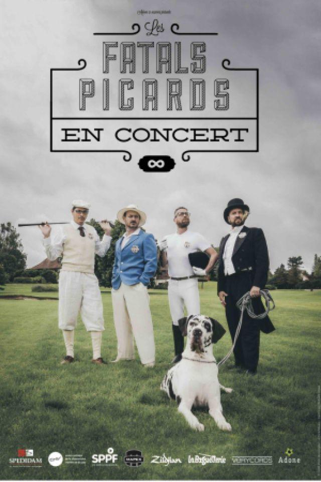 CONCERT LES FATALS PICARDS + LAIDS CRETINS DES ALPES + MALIN à VITROLLES @ Salle du roucas - Billets & Places