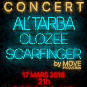 Al'Tarba ft I.N.C.H beats •  CloZee •  Scarfinger  @ Espace Culturel le V.O - MONTAUBAN
