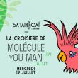Concert La Croisière Safari de Molécule (Live) à PARIS @ Safari Boat with Asics Tiger - Billets & Places