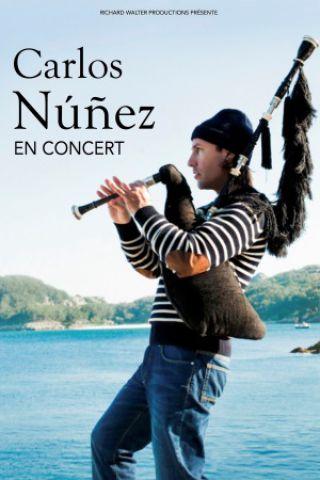 Concert CARLOS NUNEZ TOUR 2019 à RENNES @ Le Liberté - Billets & Places