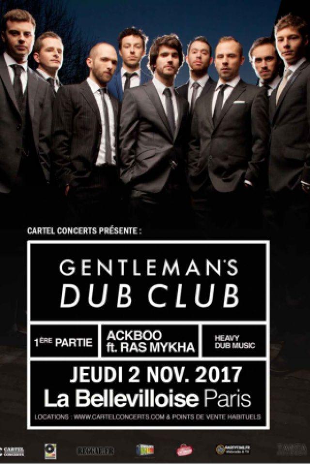GENTLEMAN'S DUB CLUB @ La Bellevilloise - Paris