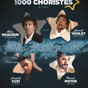 Concert LE GRAND SHOW DES 1000 CHORISTES
