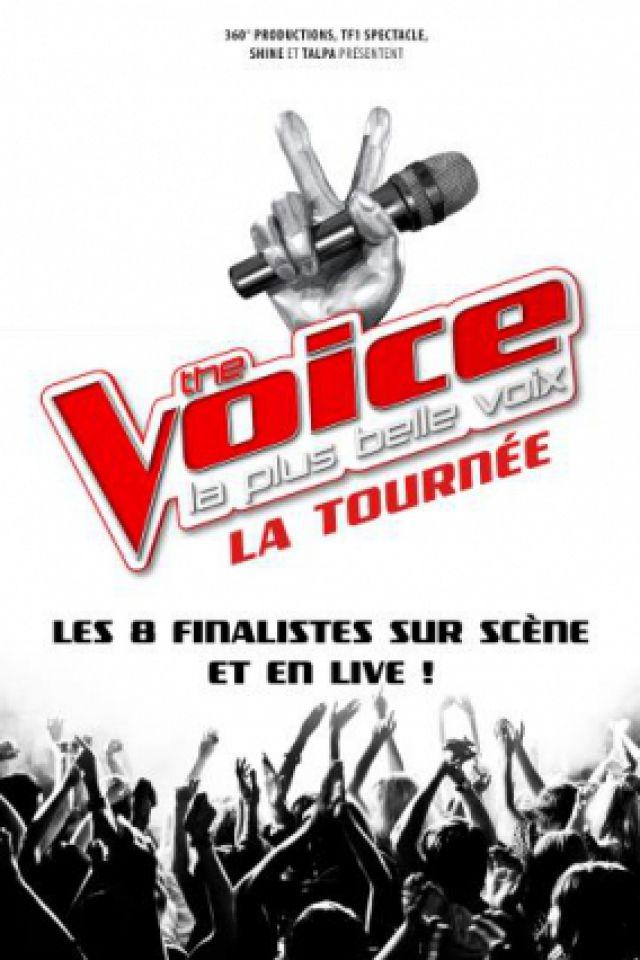 Billets THE VOICE, LA TOURNEE - Galaxie