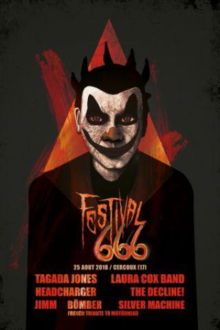 Concert FESTIVAL 666 à CERCOUX @ Salle des Fêtes - Billets & Places