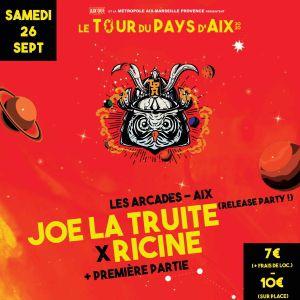 Tpa 2020 - Release Party Joe La Truite X Ricine