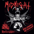 Concert MIDNIGHT + RED DEATH + HELLRIPPER au Grillen Colmar