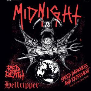 Midnight + Red Death + Hellripper Au Grillen Colmar