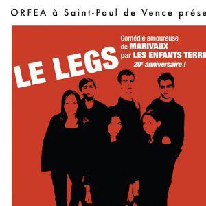 Le Legs - Comedie  De Marivaux -La Troupe  Les Enfants Terribles