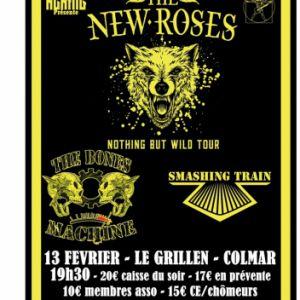 The News Roses + Smashing Train + The Bones Machines