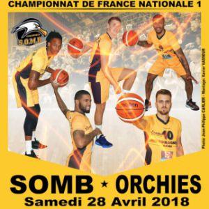 SOMB - ORCHIES @ Salle Damrémont - BOULOGNE SUR MER