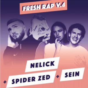 Fresh Rap V.4 : Nelick + Spider Zed + Sein