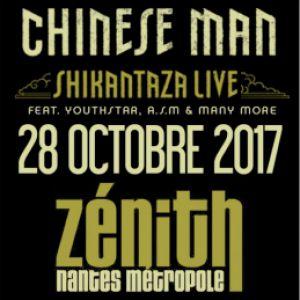 Billets CHINESE MAN + Guests - ZENITH NANTES METROPOLE