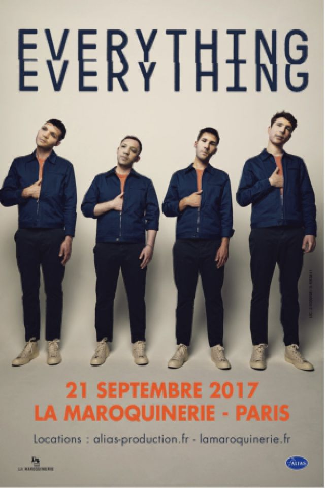 Billets EVERYTHING EVERYTHING - La Maroquinerie