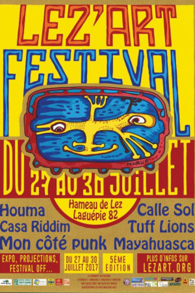 LEZ'ART Festival @ Lez'Art Festival - LAGUÉPIE
