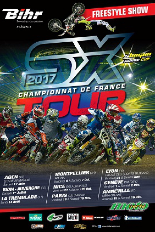SUPERCROSS SX TOUR Championnat de France  @ Galaxie - AMNÉVILLE