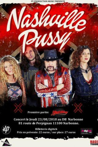 Concert Nashville Pussy à NARBONNE @ Le dB - Billets & Places