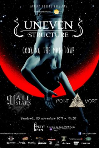 Concert UNEVEN STRUCTURE + 91 All Stars + Point Mort
