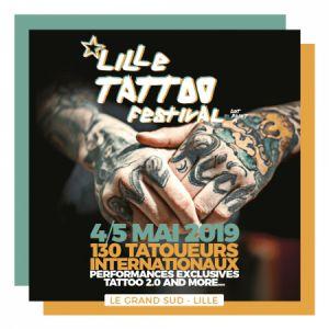 Lille Tattoo Festival 2019 - Pass 1 Jour