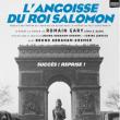 Théâtre L'ANGOISSE DU ROI SALOMON