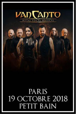Concert VAN CANTO (Paris)