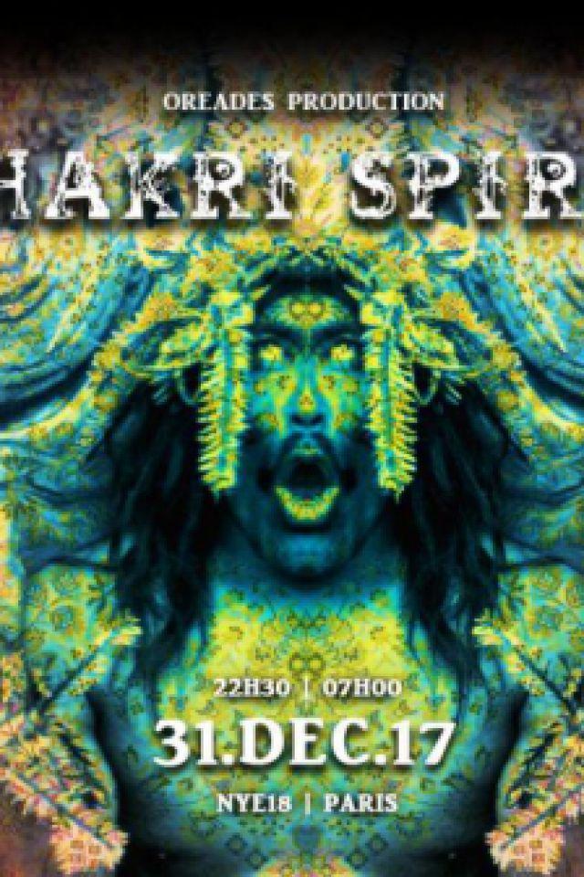 Jhakri Spirit - New Year's Eve (Paris, France) @ Glazart - PARIS 19
