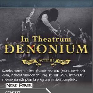 Concert IN THEATRUM DENONIUM ACT 3 à Denain @ Théâtre Municipal - Billets & Places