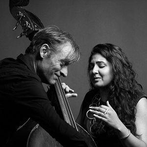 François MOUTIN & Kavita SHAH « Interplay » Duo @ Sunset - Paris