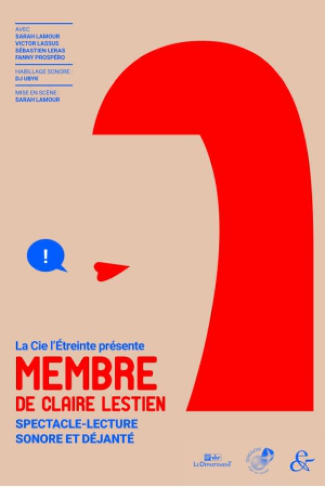 Membre de Claire Lestien @ Théâtre le Colbert  - TOULON