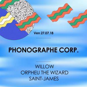 Phonographe Corp. • Good Music For Good People @ La Machine du Moulin Rouge - Paris