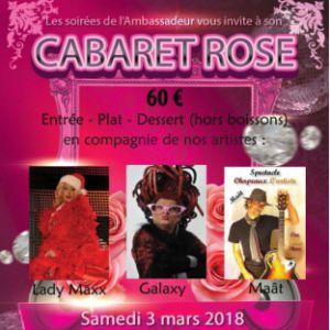 Cabaret rose  @ L'home du pêcheur - PFASTATT