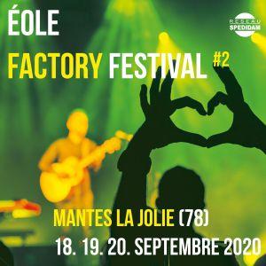 Eole Factory Festival : Pass Dimanche