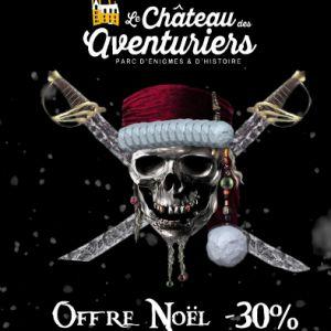 Pass Grande Aventure offre de Noël  @ Château des Aventuriers - AVRILLÉ