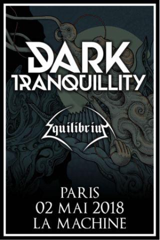 Concert DARK TRANQUILLITY + EQUILIBRIUM