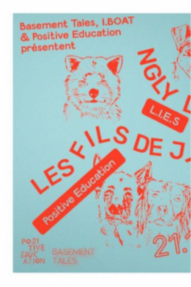 IBOAT : Basement Tales x Positive Education: Ngly, Elena Colombi @ I.boat - BORDEAUX