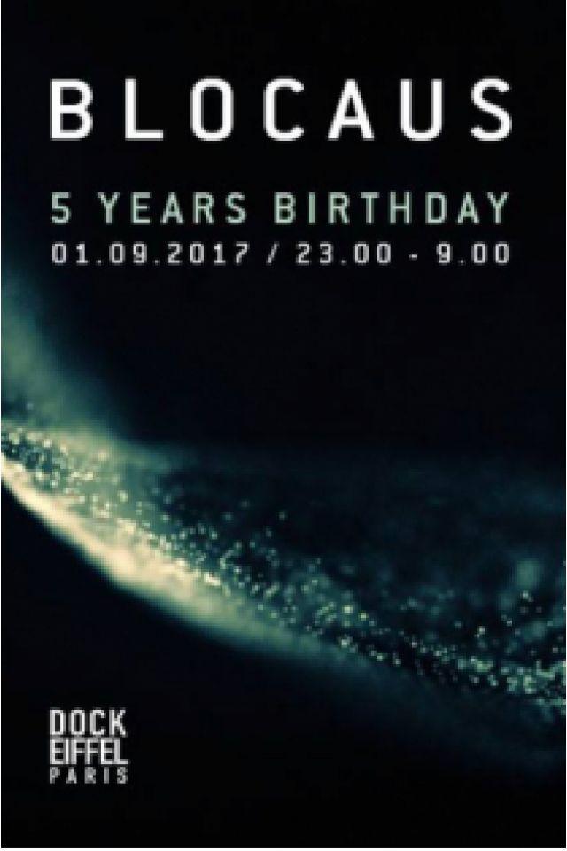 BLOCAUS 5th birthday w/ DVS1, Oscar Mulero, Sigha (live), ABSL @ DOCK EIFFEL - Aubervilliers