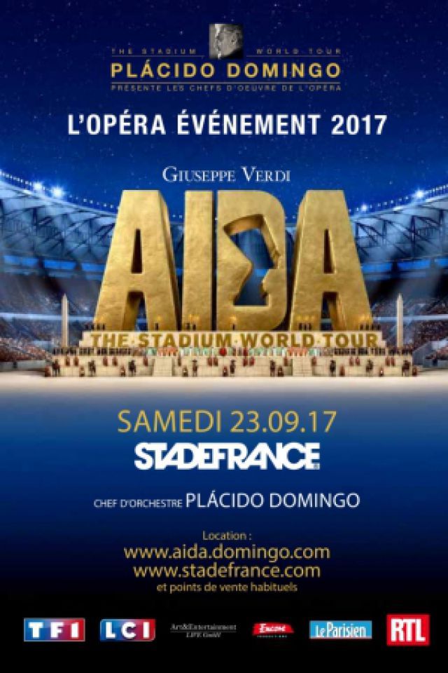 concert aida saint denis stade de france billets places. Black Bedroom Furniture Sets. Home Design Ideas