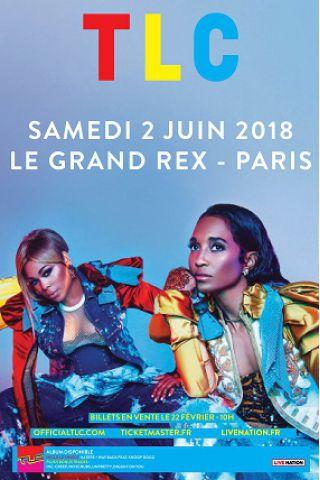 Concert TLC à Paris @ Le Grand Rex - Billets & Places