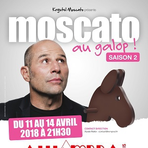 Spectacle MOSCATO AU GALOP