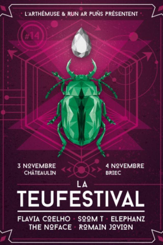 LA TEUFESTIVAL #14 - FLAVIA COELHO, SOOM T, ELEPHANZ... @ CENTRE CULTUREL ARTHEMUSE - BRIEC