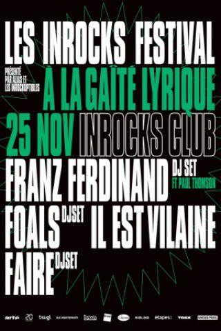 Billets INROCKS CLUB - La Gaîté Lyrique