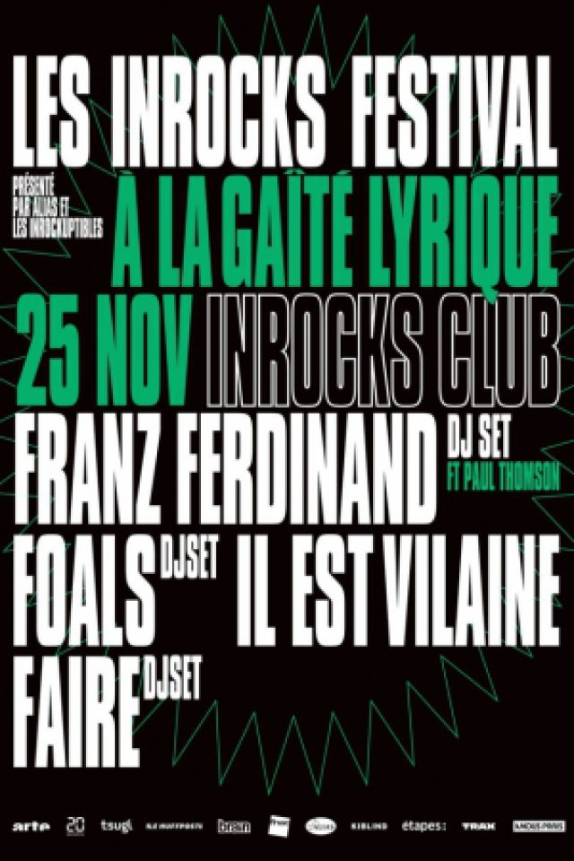 INROCKS CLUB @ La Gaîté Lyrique - Paris