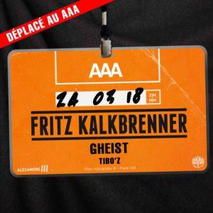Billets AAA - Fritz Kalkbrenner - Espace Alexandre III