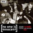 Concert No One Is Innocent - 12 Avril - Théâtre Lino Ventura