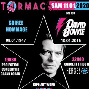 Soiree Hommage A David Bowie - Expo - Diff Live Db + Concert