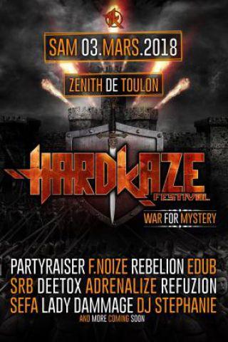 Concert HARDKAZE FESTIVAL à Toulon @ Zénith Oméga - Billets & Places