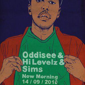 ODDISEE, HI LEVELZ, SIMS  @ New Morning - Paris