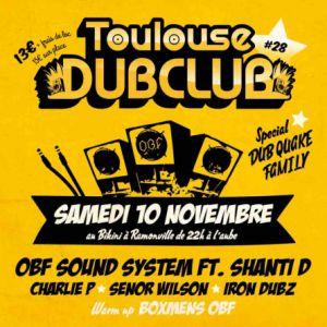 TOULOUSE DUB CLUB 28 @ LE BIKINI - RAMONVILLE