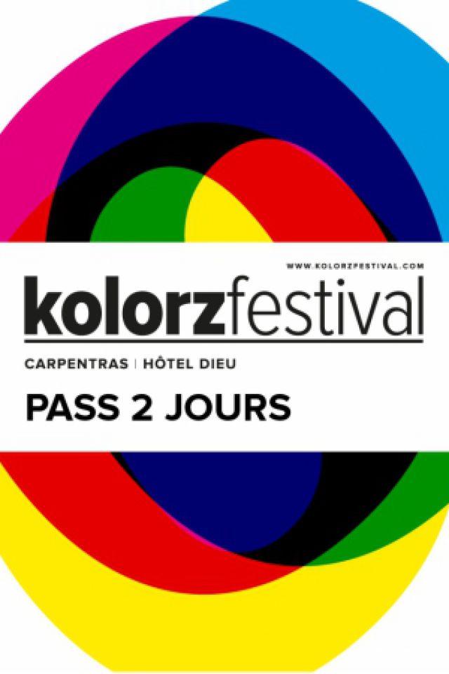 KOLORZ FESTIVAL - PASS 2 JOURS @ Hôtel Dieu  - CARPENTRAS