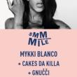 Concert SMMMILE : MYKKI BLANCO + CAKES DA KILLA + GNUCCI à Paris @ Le Trabendo - Billets & Places